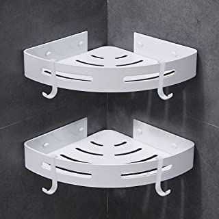Gricol Bathroom Shower Caddy Corner Shelf 2 Pack