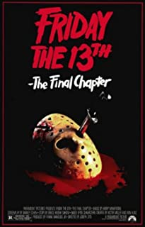 Friday the 13th Part 4 Final Chapter Movie Poster (1980) 24x36