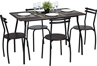 Round Dining Table Chair Sets Amazoncom