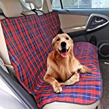 Dog Car Seat Cover for Back Seat, 100% Waterproof, Anti-Scratch, Car Protector