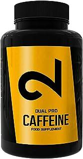 DUAL Pro CAFFEINE | Cafeína 100% Pura Certificada por Laboratorio | 120 Pastillas