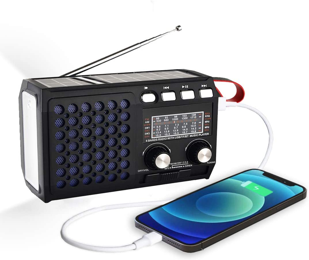 2021 Newest Emergency Radio Outlet ☆ Free Shipping Hand Solar Crank Radios Portable Ranking TOP18