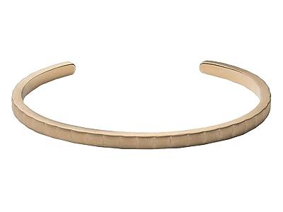 Miansai Etch Cuff (Matte Brass) Bracelet