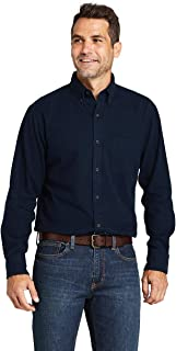 Lands` End Traditional Fit Flagship Flannel Shirt