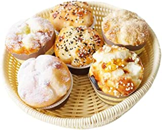 6 Pieces Artificial Bread Set Fake Muffin Model Photography Props Home Decor