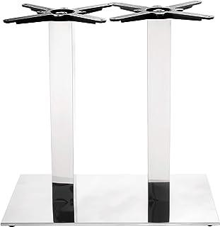 70/x 120/cm Netfurniture Quinn ghisa Grande Doppia Base da Tavolo in Rovere con Rettangolare