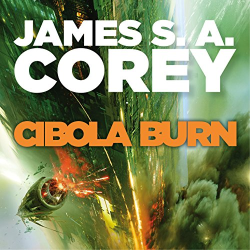 Cibola Burn audiobook cover art