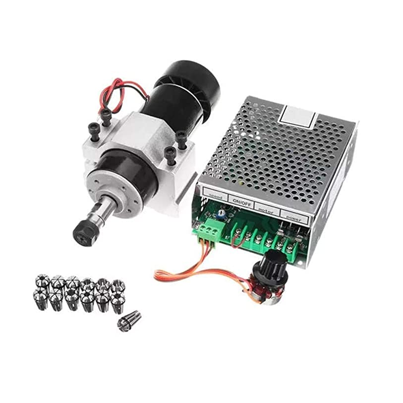 植物学入学する乏しいWXQ-XQ 空気は52ミリメートルクランプと電源速度知事AC 110-220V 500W旋盤アクセサリーとスピンドルモータの冷却します