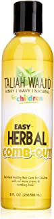 Taliah Waajid Kinky Wavy Natural Easy Herbal Comb Out, 8 Ounce