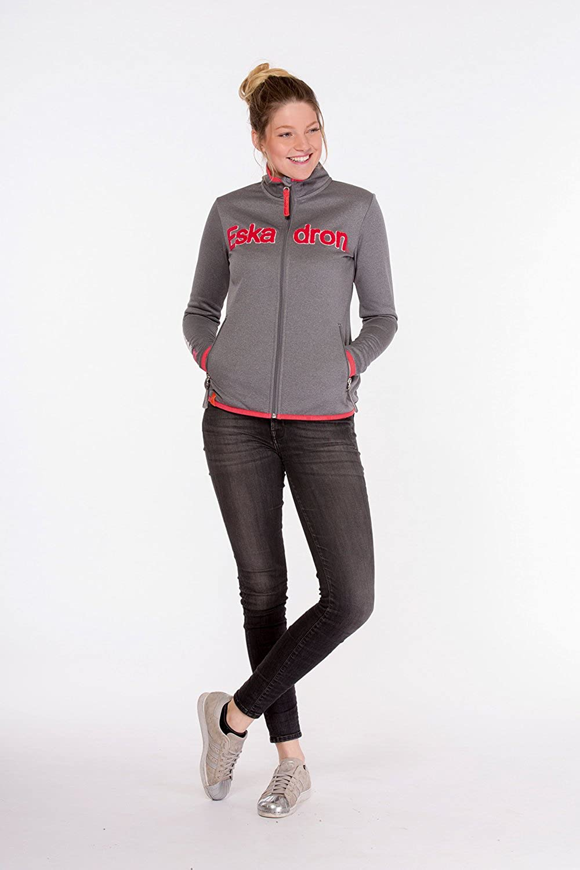 Eskadron Equestrian.Fanatics - damen Fleece Zip Shirt NICKY B07BRCZN98  Kaufen Sie online