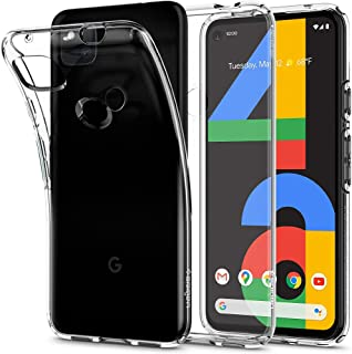 Spigen Liquid Crystal designed for Google Pixel 4a case/cover [NOT Compatible with Pixel 4a 5G] - Crystal Clear