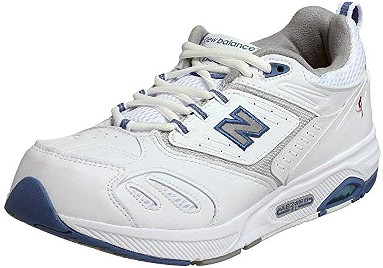 New Balance Women's WW845WBC White bluee Size 10 2E US