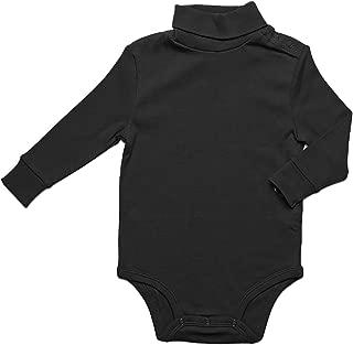 black turtleneck onesie baby