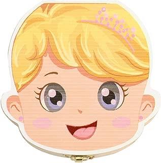 Bo/îtes de dents de b/éb/é sauver des bo/îtes en bois First Haircut Keepsake Tooth Fairy Box personnalis/é porte-dent pour fille