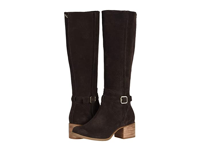 Vintage Boots- Buy Winter Retro Boots Koolaburra by UGG Madeley Chocolate Brown Womens Shoes $99.99 AT vintagedancer.com