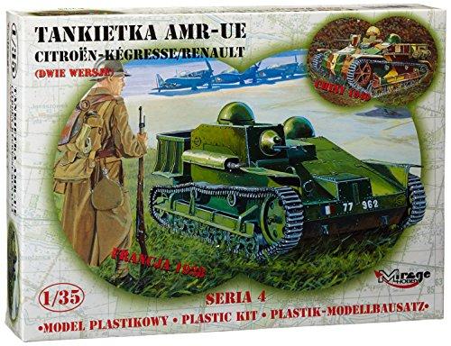 Mirage Hobby 35306, 1:35 échelle, AMR -UE Tankietka-Kegresse CITROEN / RENAULT, kit de modèle en plastique