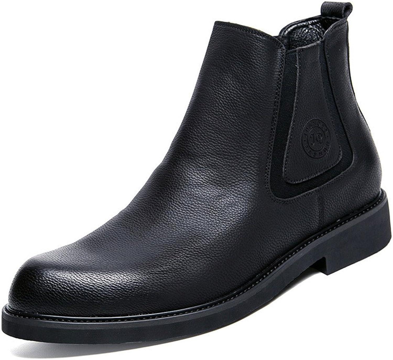 Mnner - freizeit - mode martin stiefel schwarz martin stiefel mnnlichen kurze stiefel englischen runden kopf kurz - stiefel,schwarz,39