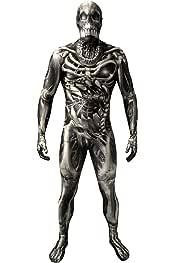 Morphsuit Adultos Calavera y Huesos Monstruo de Disfraces ...