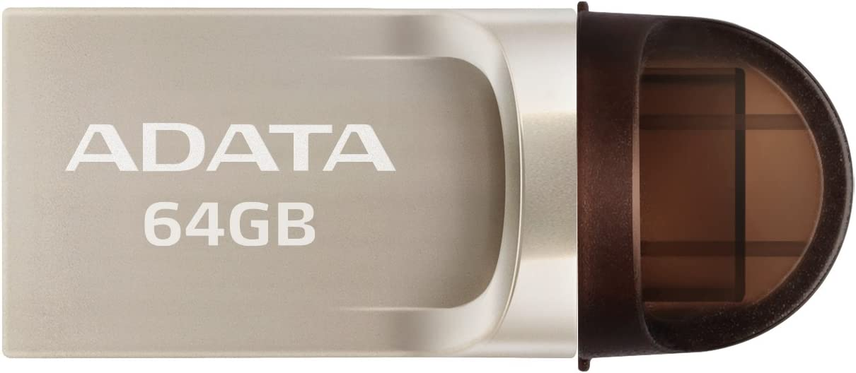 ADATA UC370 64 GB USB3.1 Baltimore Mall USB-C On-The-GO outlet Flash USB-A and Drive