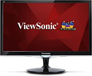 ViewSonic VX2452MH 24in 2ms 1080p Gaming Monitor HDMI, DVI, VGA (Renewed)