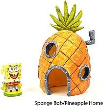 Penn-Plax SpongeBob & Pineapple House Aquarium Ornament