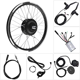 Focket E-Bike Conversion Kit, 700C Wheel 36V/48V 350W Max Speed 28km/h Motor Electric Bicycle Motor Kits Powerful Controller Set with KT900S LED Display, Waterproof Wire for Road Bike