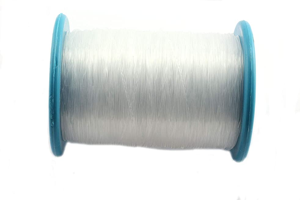 RuiLing 340m/Roll 0.8mm Transparent Nylon Fishing Line Super Strong DIY Jewelry Making Supply Necklace Bracelet Beading Wire/Thread/String/Rope