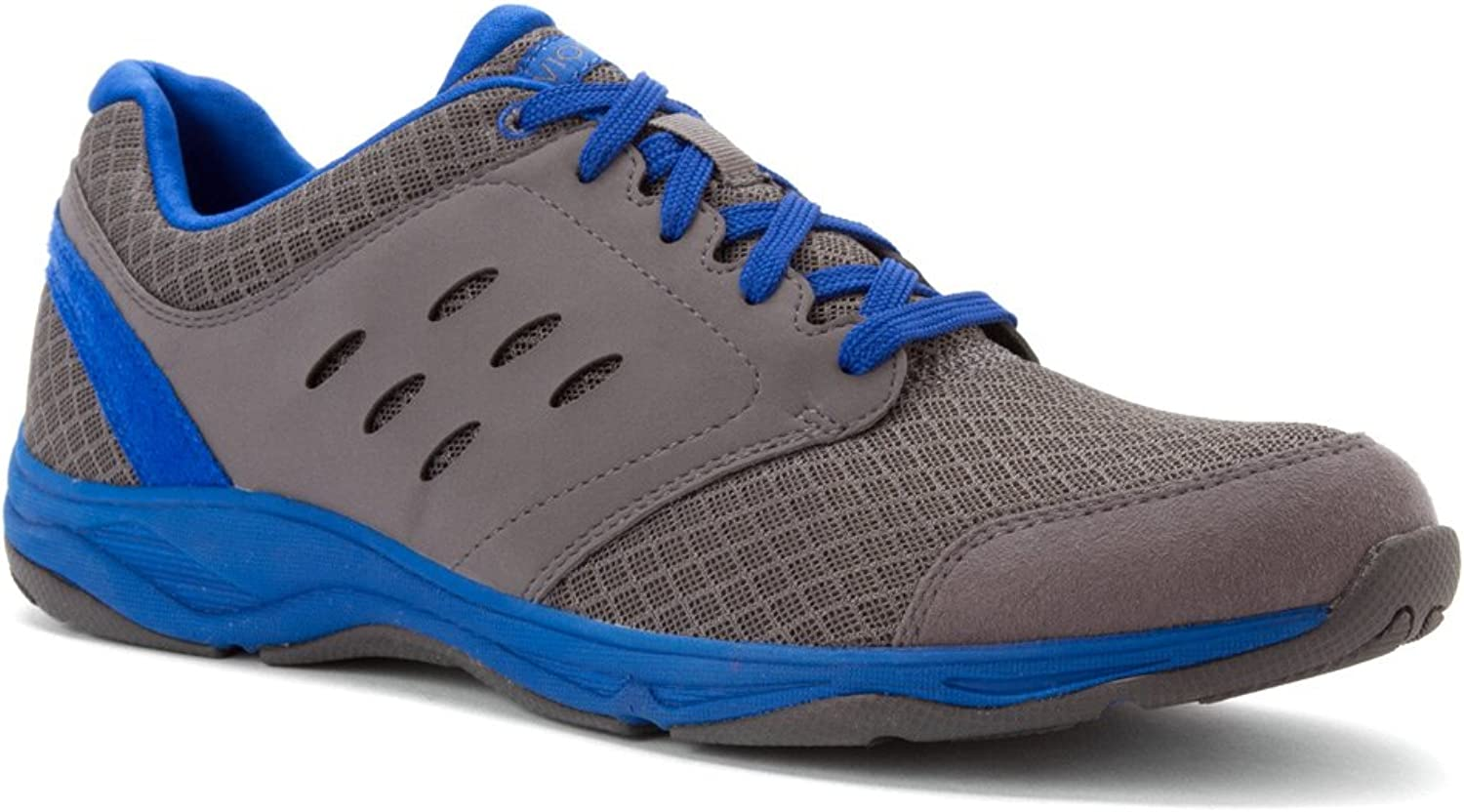 Vionic with Orthaheel Technology Men's Contest Active Lace Up,Charcoal,US 7 M