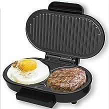 Machine À Petit-Déjeuner Multifonctionnelle 220V Mini Crêpière Électrique Machine À Burger Aux Oeufs Domestique