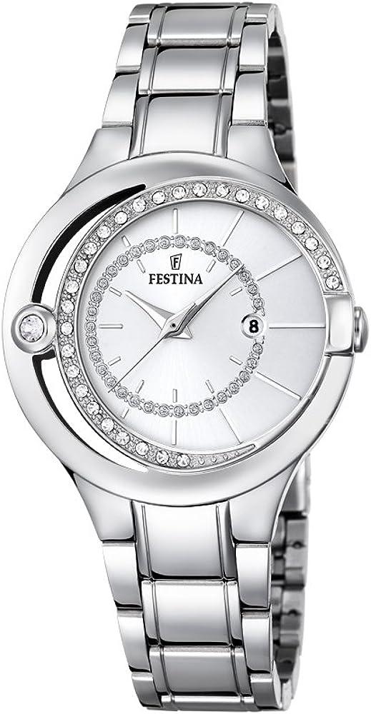 Festina orologio analogico da donna in acciaio inossidabile F16947/1