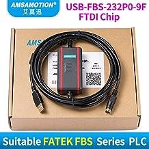 Suitable FATEK FBS Series PLC Programming Cable Data Download line USB-FBS-232P0-9F+(Black) (Black)