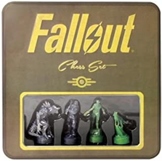 Fallout Chess Set - Exclusive Tin with Holographic Pieces