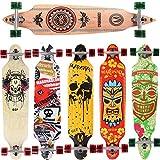 Skateboard Longboard Maronad, Drop Through Race Cruiser, ABEC11, 104x24cm,...