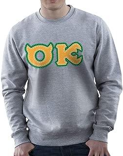 Monster University Fraternity Oozma Kappa OK Men's Sweatshirt