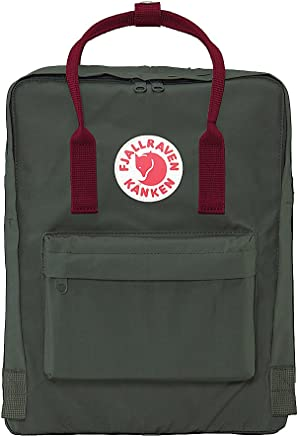 15486e169 Fjallraven - Kanken Classic Backpack for Everyday, Forest Green-Ox Red