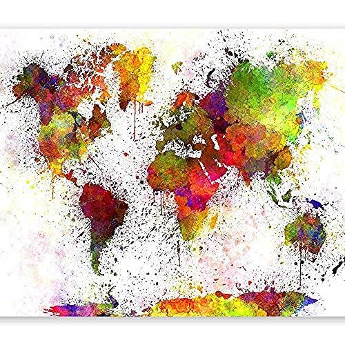 Carta da parati Fotomurali in TNT Murale alla Moda Decorazione da Muro XXL Poster Gigante Design Carta per pareti 3 Wanddekoration fototapete 3d Tapete effekt Vlies wandbild Schlafzimmer-300cm×210cm