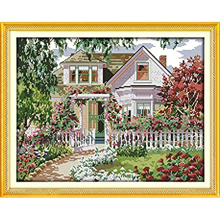 Lighthouse Joy Sunday Top Chinese Cross Stitch Kits Gift Starter Kits Easy Patterns For DIY Embroidery Multiple Pattern Designs