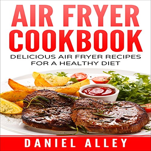 Air Fryer Cookbook audiobook cover art