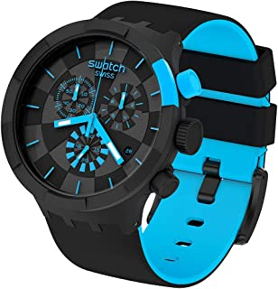 Reloj Swatch Big Bold Chrono SB02B401 Checkpoint Blue