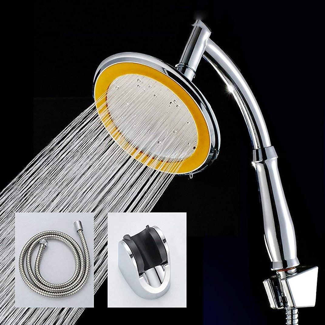 モッキンバードフォアマン手段実用的なハンドシャワー 新しいトップスプレー304ステンレス鋼パネル浴室加圧してシャワービッグシャワーレインノズルシャワーヘッド (Color : 2)