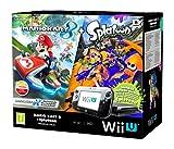 Nintendo Wii U - Consola Premium HW + Mario Kart 8 + Splatoo