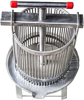 Szseven Fabricación de Vino de Sidra de Fruta de Acero Inoxidable para Jugo Natural, UVA, vinaza, orujo de Aceite y Panal, prensador de trituradora de Manzana, Herramienta de Apicultura extractores