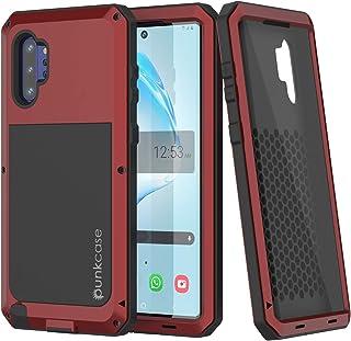 PunkCase Galaxy Note 10 Plus Metal Case Heavy Duty Military Grade Rugged Armor Cover Hybrid Full Body Hard Aluminum & TPU ...