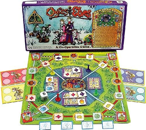 Family Pastimes Ogres and Elves - A 3-in-1 Co-operative Game by Family Pastimes