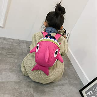 Cute Dinosaur Baby Safety Harness Backpack Toddler Anti-Lost Bag Children Extremely Durable Sturdy and Comfortable Schoolbag Pink 19 * 27 * 11cm