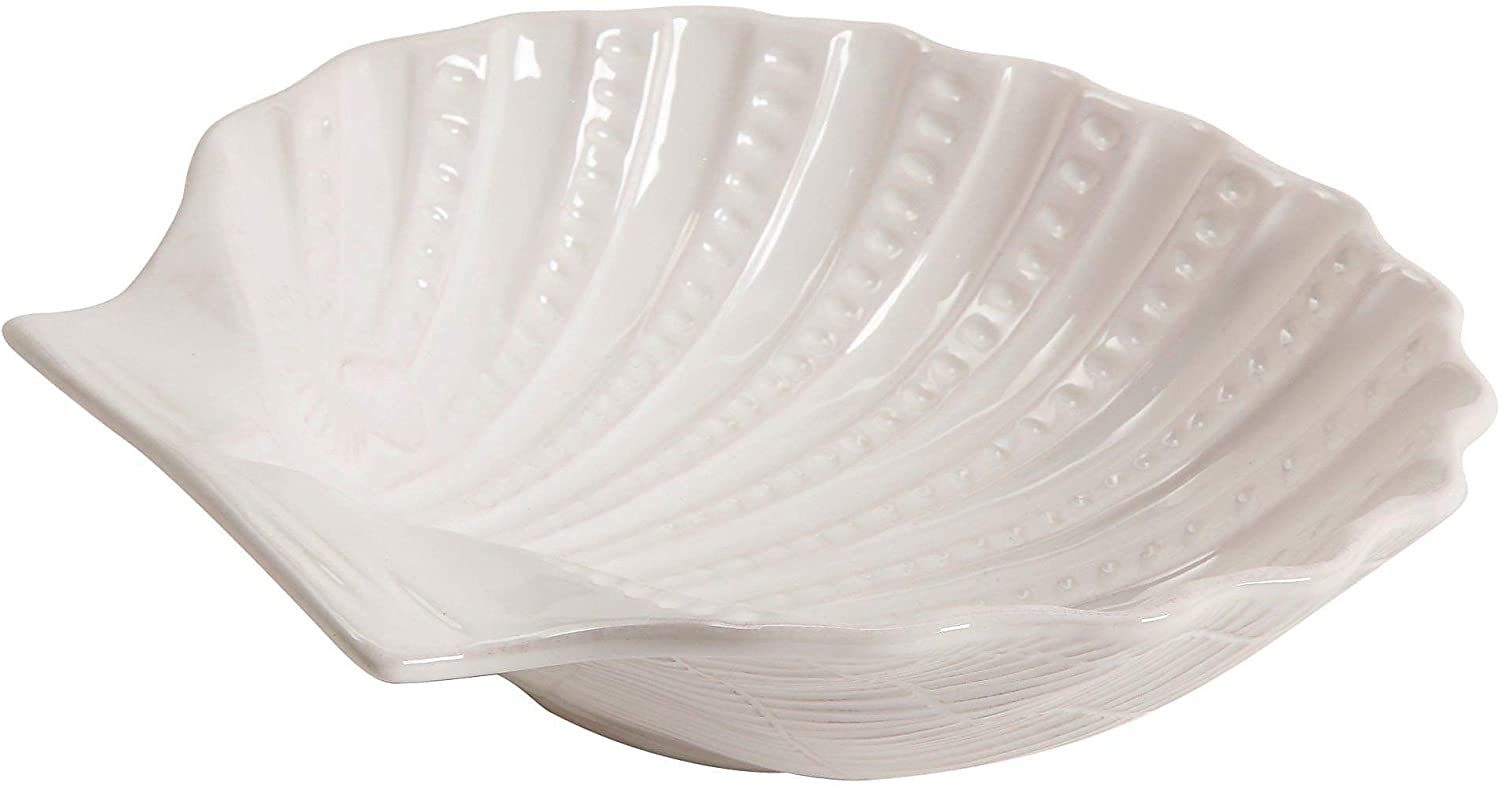 Coastal Home Shell Shaped Bowl Size Portland Ranking TOP17 Mall One Serving