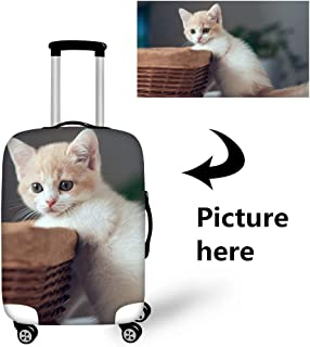 Bigcardesigns Custom Design Travel Luggage Cover Elastic Protector Suitcase Covers Personalise L Size Apply 26-30
