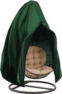 UTDKLPBXAQ Outdoor Hanging Egg Chair Cover Waterproof Patio Chair Cover Egg Swing Chair Dust Cover Protector with Zipper