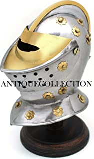 Medieval Warrior Closed Helmet Wearable Armor Costume