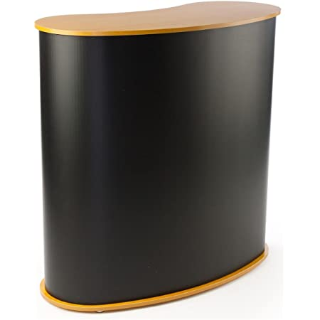 S1 Custom Podium Table Pop Up Counter Stand Trade Show Display Fullcolor